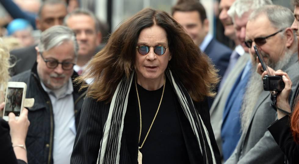 Ozzy Osbourne, el pasado mes de mayo.