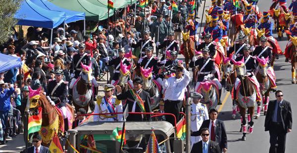 El Legislativo prepara su sesión de honor para conmemorar los 190 años de la fundación de Bolivia.