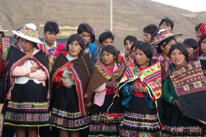 POBLACIÓN. Los niños y adolescentes en Chuquisaca se identifican con distintas naciones indígenas.