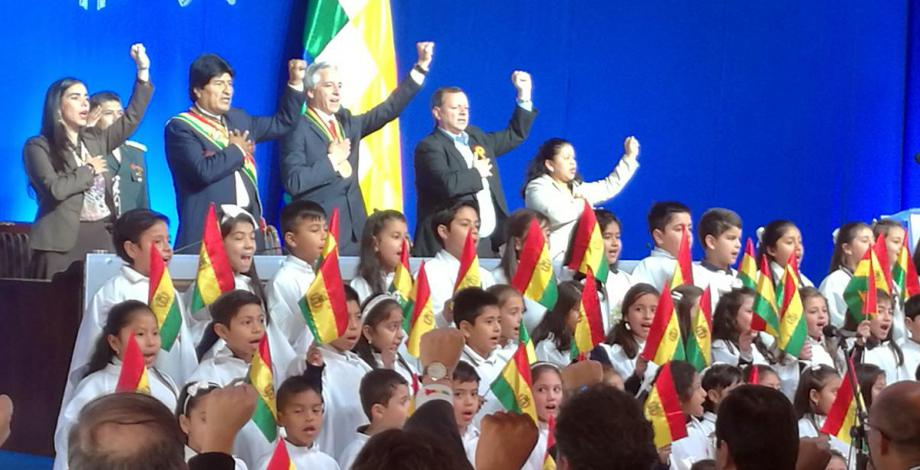 La Asamblea Legislativa Plurinacional sesiona en la ciudad de Tarija
