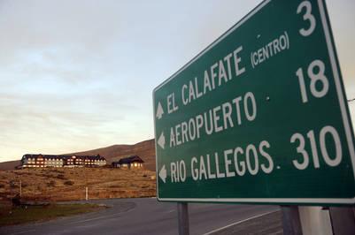 Hotel Los Sauces,  El Calafate, Santa Cruz. Foto: Maxi Failla.