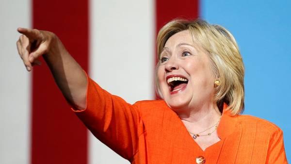 La candidata demócrata a la presidencia de EE.UU., Hillary Clinton. REUTERS