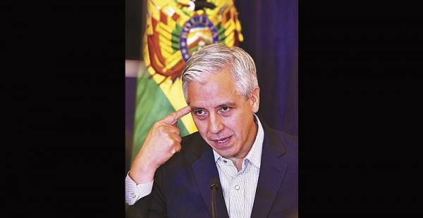 García Linera considera que 2016 concluirá con holgura económica