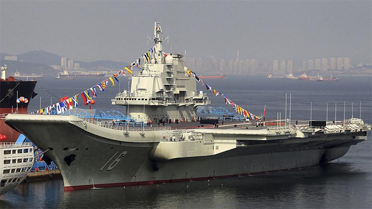 El portaaviones Liaoning