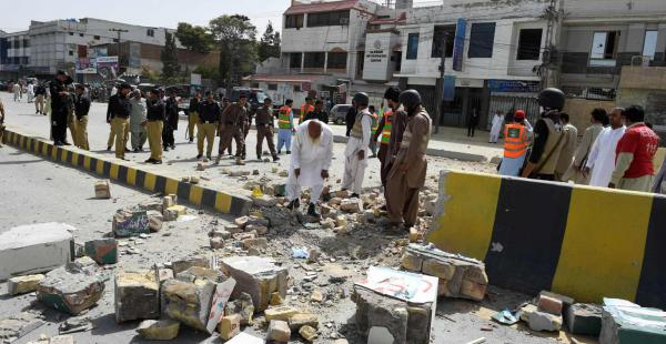 El ataque ocurrido tres días después de un atentado suicida delante del hospital de Quetta donde 73 abogados murieron