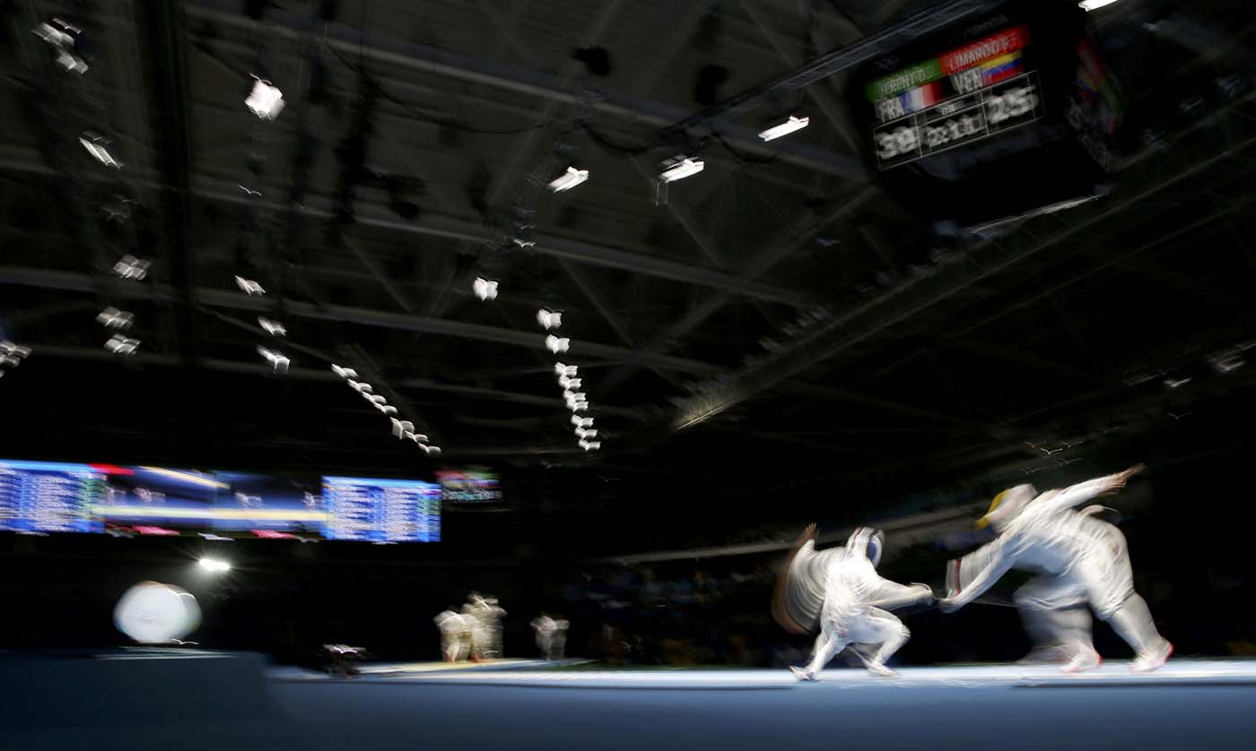 2016 Rio Olympics - Fencing - Quarterfinal - Men