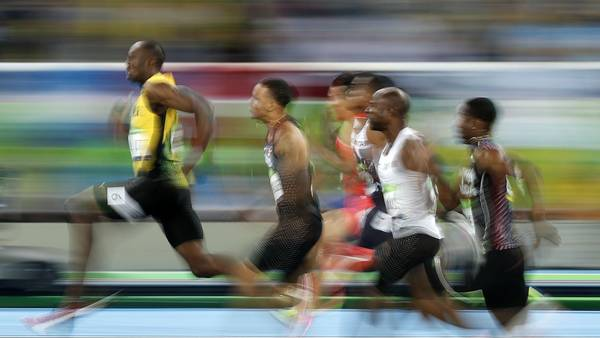Usain Bolt sigue siendo insuperable. / AFP PHOTO / Adrian DENNIS