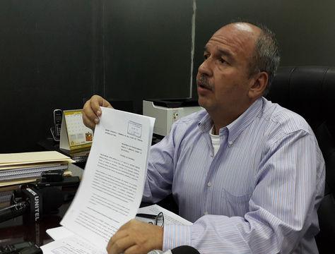 El senador de UD, Arturo Murillo. Foto: La Razón
