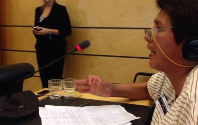 """Guarita relata la """"violenta represión"""" sufrida por los discapacitados y pide ayuda a Naciones Unidas"""