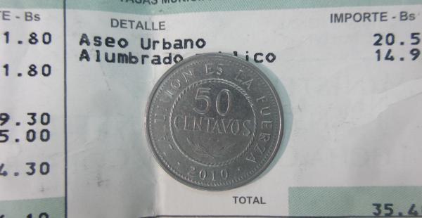 Un monto de 50 centavos de boliviano es lo que cada socio debe pagar