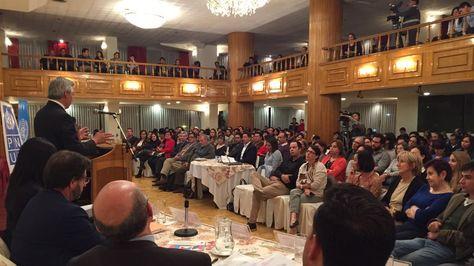 Vicepresidente Álvaro García Linera durante su exposición en el Informe Regional sobre Desarrollo Humano para América Latina y el Caribe 2016. Foto: Vicepresidencia Bo