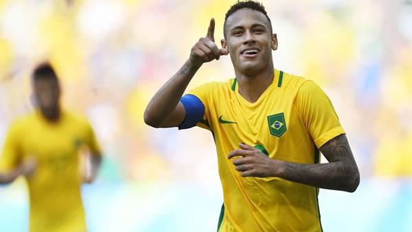 Neymar, la principal estrella del partido por el oro. (AFP)