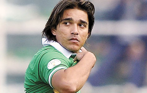 El delantero Marcelo Martins.