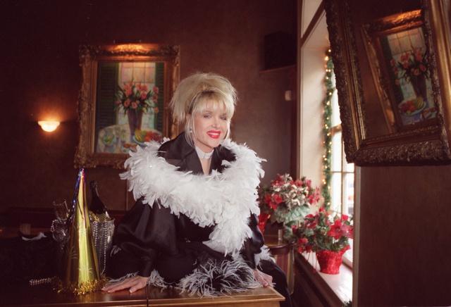 Gennifer Flowers, la primera amante de Bill, en una foto tomada en 2001.