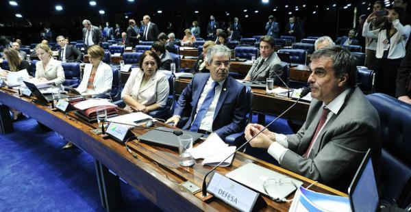 Si un total de 54 senadores apoyan el juicio, Rousseff será retirada del   cargo presidencial
