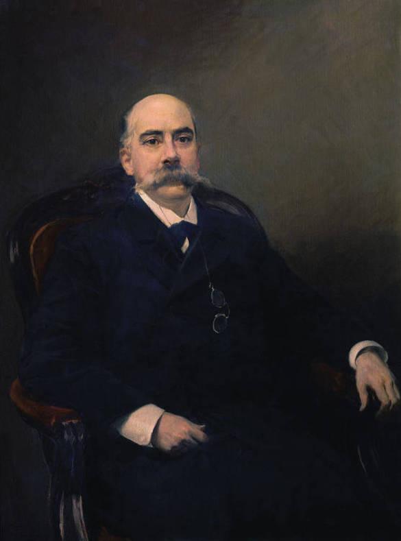 Retrato de Emilio Castelar Ripoll, por Joaquín Sorolla. 1901.