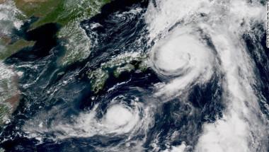 tormentas japón