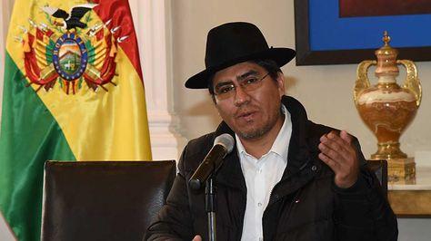 El embajador Diego Pari. Foto: La Razón