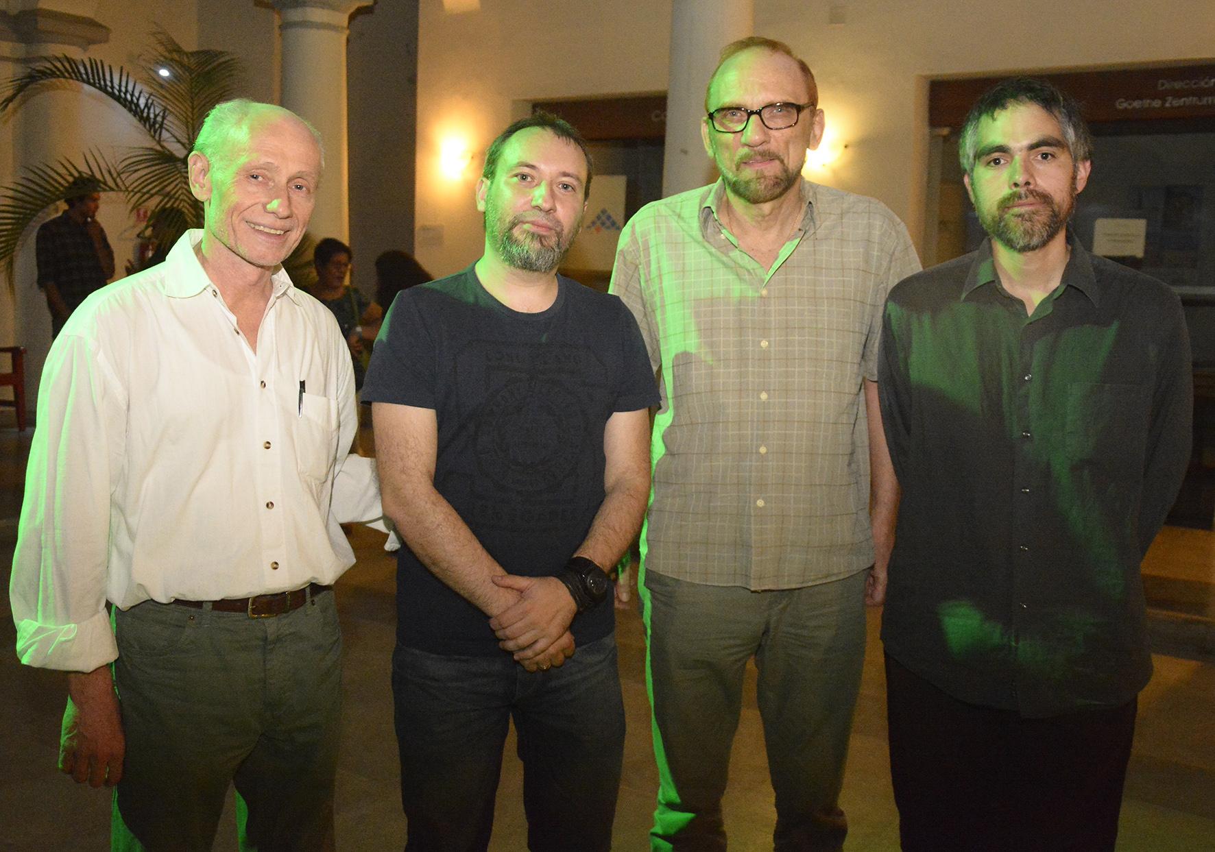Franz Kunz, Alexander Grebtschenko, Michael Biste, Miguel LLanque