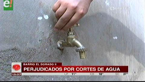 Barrio El Dorado II llevan 3 días sin agua