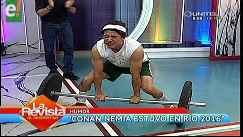 """""""Conan Nemia"""" el profesor de las Olimpiadas Rio 2016"""