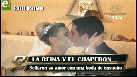 Roxana Del Río y Mamén Saavedra tuvieron una boda de ensueño