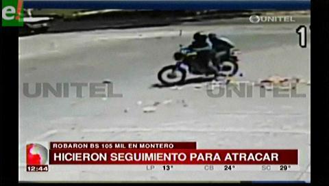 Robaron 105 mil bolivianos a un hombre en Montero
