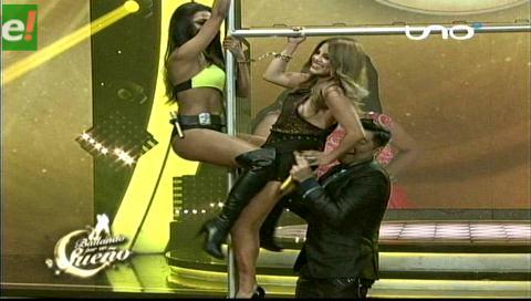 Bailando. Hasta Laura La Faye subió al tubo