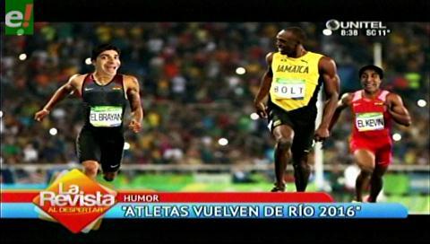 El Kevin y el Brayan volvieron de los Juegos Olímpicos 2016