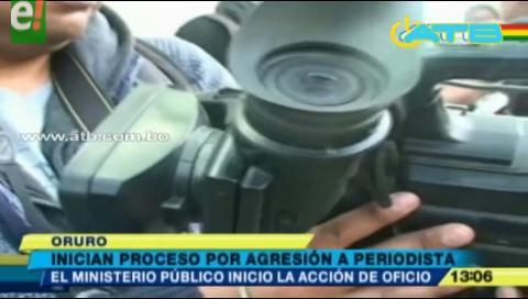 Inician proceso por agresión a periodista de Cadena A
