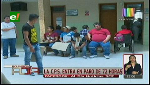Trabajadores de la CPS van al paro de 72 horas
