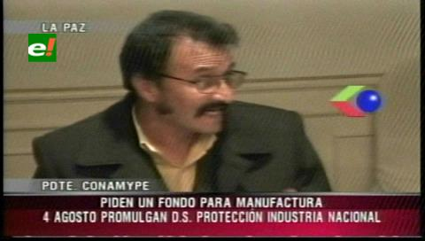 Conamype pide la creación de un Fondo de Manufactura