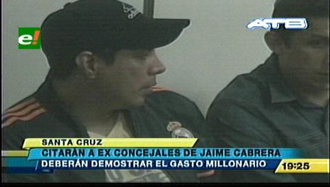 Fiscalía citará a ex concejales de Jaime Cabrera