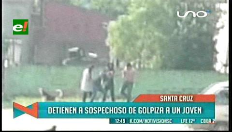 Detienen a sospechoso de golpiza a un joven en Los Lotes