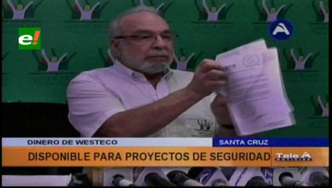 Alcaldía espera pedido policial para usar dinero