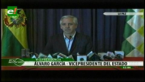 Vicepresidente lanza críticas ante el pedido de Pacto Fiscal