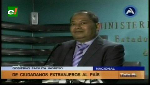"""Romero califica de """"desatinado"""" el retiro de visas diplomáticas a Bolivia de parte de Chile"""