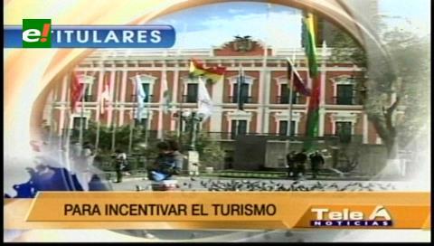 Titulares de TV: Gobierno facilitará la visa para los ciudadanos extranjeros que quieran visitar Bolivia