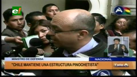 Ministro Ferreira: «Chile tiene una estructura pinochetista»