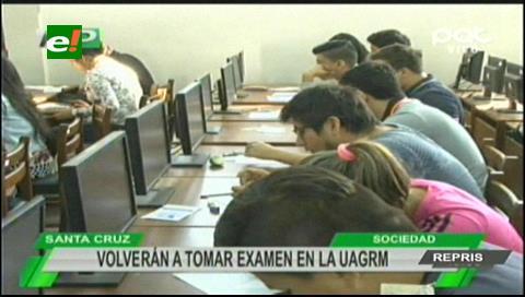 Uagrm: Volverán a tomar el examen del PSA el 17 y 18 de agosto
