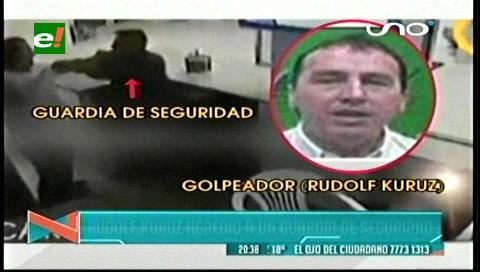 Fiscalía y Policía citan a un jefe de la Alcaldía de Santa Cruz por golpiza a guardia de seguridad