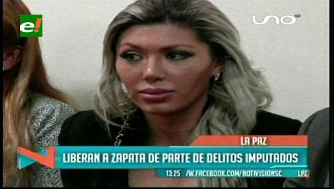 Gabriela Zapata, la ex de Evo, es sobreseída en 4 de los seis delitos que se le imputan