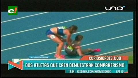 Dos atletas son premiadas con pase a la final olímpica tras gesto deportivo