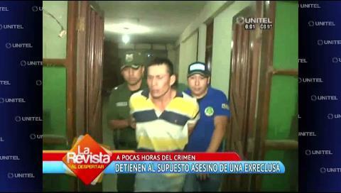 Feminicida estuvo preso cinco veces en Palmasola