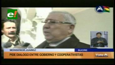 La Iglesia Católica exhorta una vez más al diálogo entre cooperativistas y el Gobierno