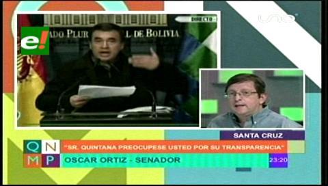 """Ortiz le pide a Quintana que haga aparecer el teléfono """"perdido"""" con los chats de Zapata"""