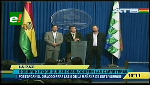 Dialogo Gobierno – cooperativistas se posterga hasta el viernes