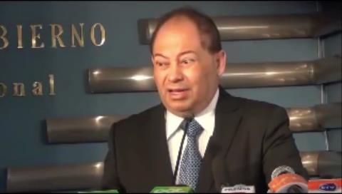 Vea la reacción del ministro Romero al enterarse sobre el secuestro de Illanes