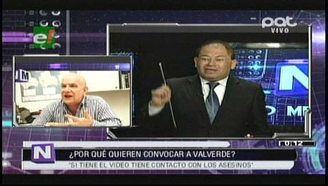 Romero: Si Valverde recibió el video es porque está en contacto con los asesinos de Illanes