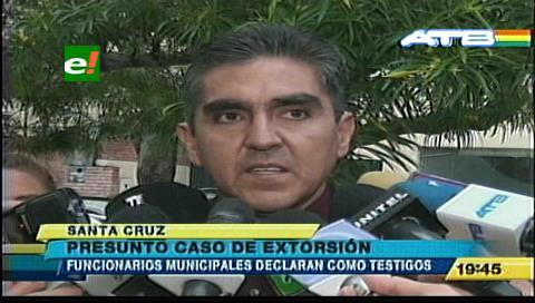 Santa Cruz: Funcionarios ediles declararon sobre un caso de extorsión